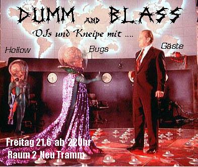 Dumm und Blass 2013 Flyer